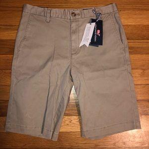 Boys Vinyard Vines Khaki Shorts NEW